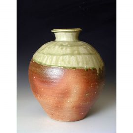 PR 329    Wood fired jar.