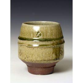 PR347    Ash glazed Yunomi.
