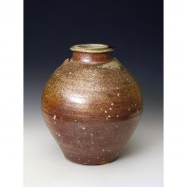 PR380  A wood fired vase.