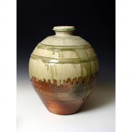 PR378  Wood fired jar.
