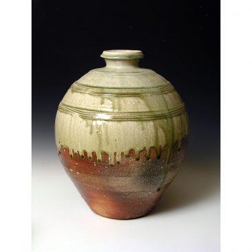 PR378  Wood fired jar.