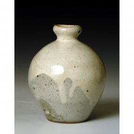 PR366  Small bottle or bud vase.
