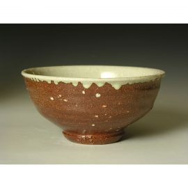 PR367  Wood fired open 'summer' Chawan.