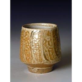 PR385   A Salt Glazed Yunomi.