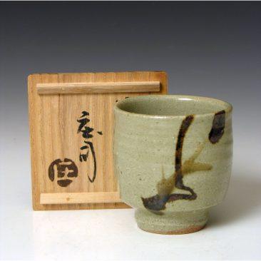 HJ86  A Yunomi by Hamada Shoji.