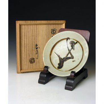 HJ92  A set of six plates by Shoji Hamada